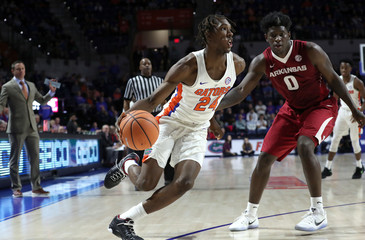 NCAA Basketball: Arkansas at Florida