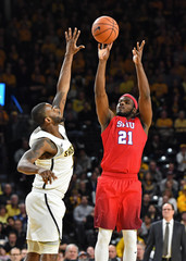 NCAA Basketball: Southern Methodist at Wichita State