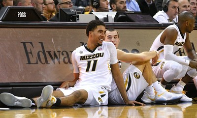 NCAA Basketball: Tennessee at Missouri
