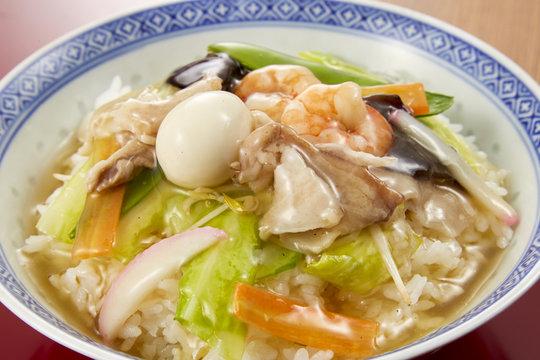 飯 中華 野菜たっぷり! 八宝菜*