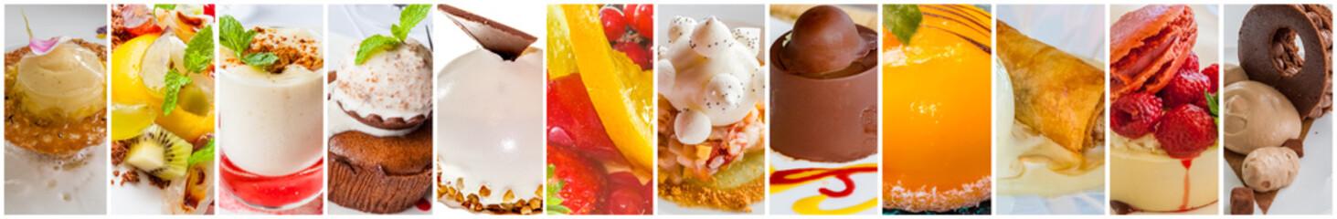 Stores photo Dessert banderole de desserts