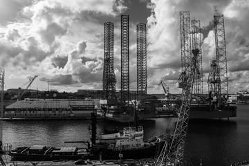 Ship Repairing Yard