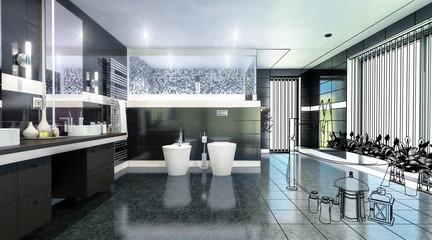Luxury Bathroom (CAD)