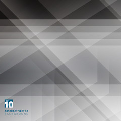 Abstract geometric overlay on black background with diagonal stripes. Technology and dynamic motion. For ad, print, brochure, flyer, poster, magazine, booklet, leaflet.