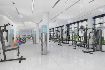 Fitness - Sport - Fitnessstudio - Fitnesscenter - Krafttraining - Kraftsport