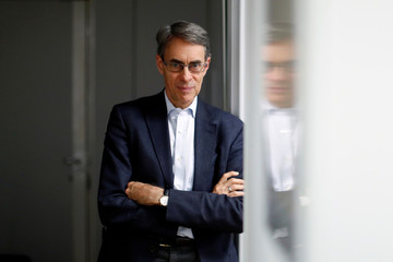 Kenneth Roth, Executive Director of Human Rights Watch, poses at the organization offices in Paris