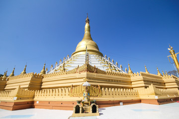 Temple and Pagoda in Bago, Myanmar