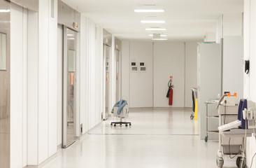 Hospital Surgeries Corridor