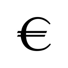 euro sign icon. Element of money symbol icon. Premium quality graphic design icon. Baby Signs, outline symbols collection icon for websites, web design, mobile app