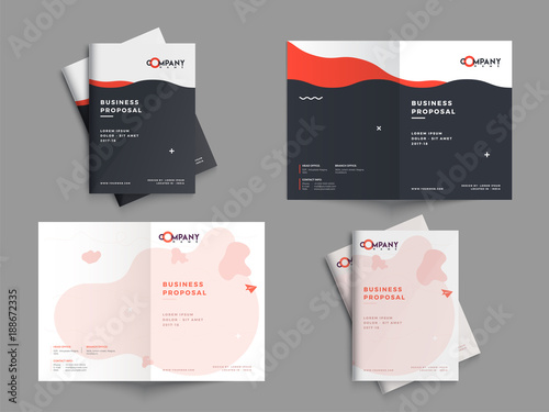 Creative Business Proposal Design Corporate Template Layout With