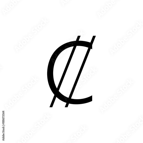Sign Of The Colones Of Costa Rica Icon Element Of Money Symbol Icon