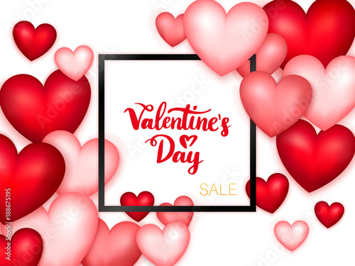 Valentines Day Sale Banner Stock Image And Royalty Free Vector