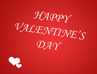 Valentines Day card background with heart