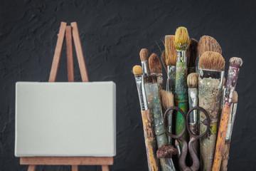 Artistic equipment.
