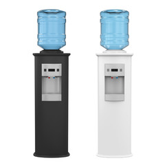 Water Cooler Isolated