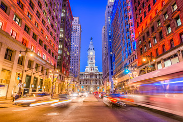 Philadelphia, Pennsylvania, USA on Broad Street