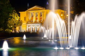 Photo sur Aluminium Opera, Theatre Opernhaus Halle (Saale)