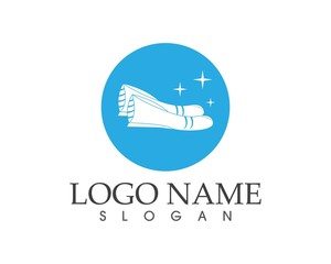Shoes logo design template
