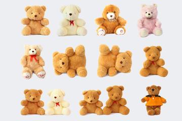 Include cute and beautiful teddy bear.