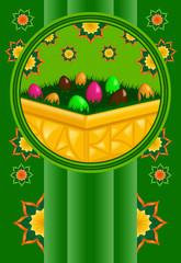 biglietto uova di pasqua