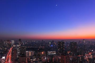 東京の夜空