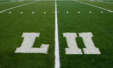 Football Field LII Yard Line