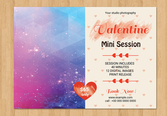 Photography Studio Valentine's Day Special Flyer 5