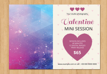 Photography Studio Valentine's Day Special Flyer 7