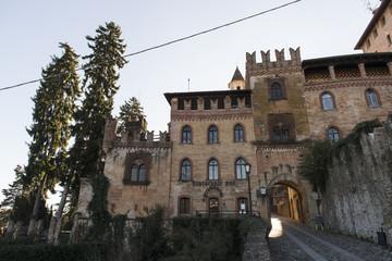 Castell'Arquato, pueblo medieval. Placencia, Italia