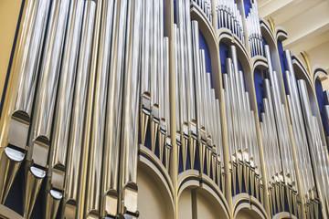 Steel tubes of Pipe Organ