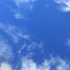 Blue sky and clouds texture