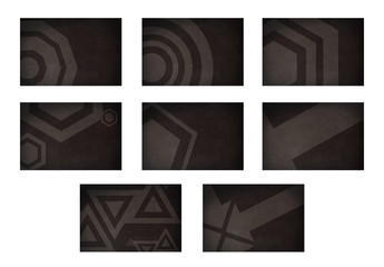 Geometric Photo Overlay Set for Social Media 2