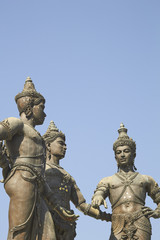 Three Kings Monument, Chiang Mai, Thailand