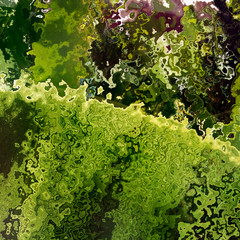 Green crumb layers tissue, background illustration