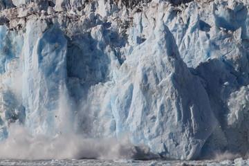 Door stickers Gray Columbia Glacier, Columbia Bay, Valdez, Alaska