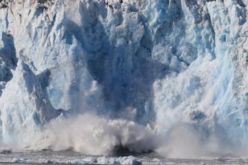 Fotobehang Gletsjers Columbia Glacier, Columbia Bay, Valdez, Alaska