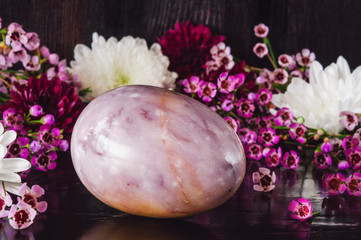 Amethyst Stone Egg