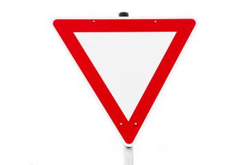 Verkehrsschild Verkehrszeichen Schild VORFAHRT ACHTEN