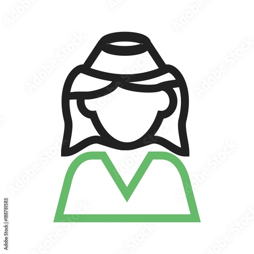 Air Hostess Icon Stock Image And Royalty Free Vector Files On