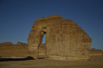 Elephant Rock, Al Ula , Saudi Arabia
