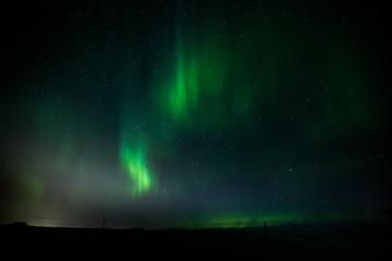 Aurora borealis - Polarlicht über Island