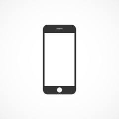 Vector image of icon mobile phone.