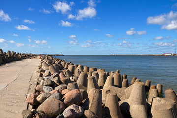 Gate of the Baltic sea.