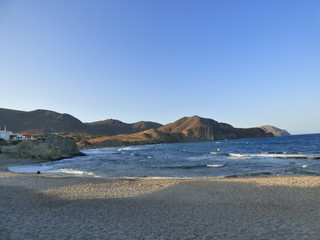 Isleta del Moro, localidad del Parque Natural Cabo de Gata-Níjar, Provincia de Almería, perteneciente al municipio de Níjar
