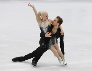 Figure Skating - ISU European Championships 2018 - Ice Dance Short Dance