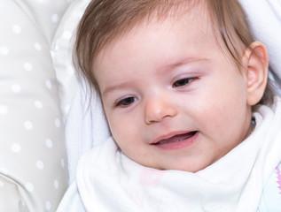 Cute little baby girl 8