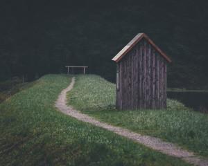 Hütte im Harz