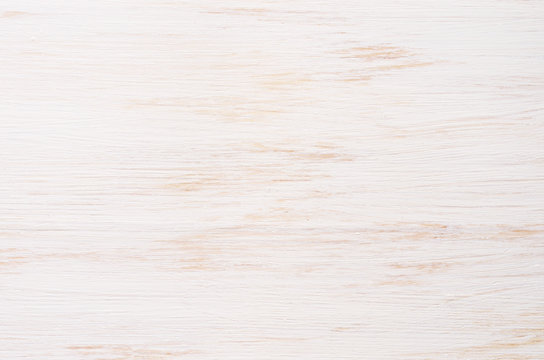 White painted wooden board