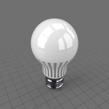 Fluorescent LED light bulb