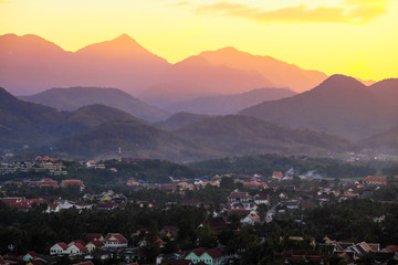 Luang Prabang view point, Laos.